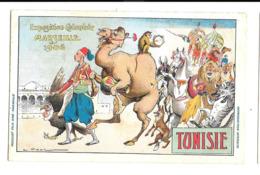 KB141 - CP EXPOSITION COLONIALE MARSEILLE 1906 - TUNISIE - Ausstellungen