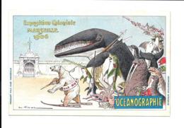 KB145 - CP EXPOSITION COLONIALE MARSEILLE 1906 - OCEANOGRAPHIE - Ausstellungen
