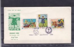 Iran 1974   SC#1844-46   MNH   FDC - Iran