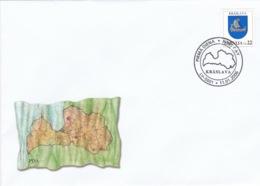 Latvia - Kraslava - Briefe U. Dokumente