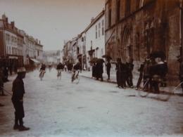 Rare!  Belle Photo Ancienne 1908 Cyclisme Vélo ! Saint Mihiel Meuse 55 ! - Saint Mihiel