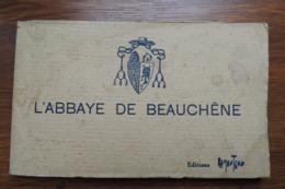 ABBAYE DE BEAUCHENE - CARNET DE 9 CARTES - Cerizay