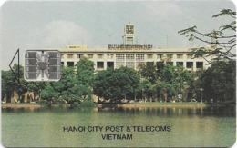 Vietnam - Central Post & Telecom (Chip) - Hanoi City Post & Telecoms Vietnam - Chip SC7, Used - Vietnam