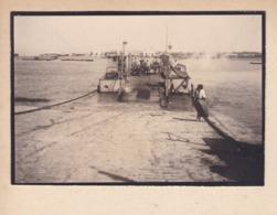 MAROC Traversée D'un Fleuve Ou Bras De Mer 1921 Photo Amateur Format Environ 6,5 Cm X 4,5 Cm - Lieux