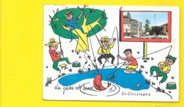 St CHRISTOPHE Fantaisie Chien (FL) Charente (16) - Other Municipalities