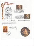 22463 - Christkindl 1991 Internationale Philatélie Belgique Autriche 24.12.91 Veurne 05.01.92 - Weihnachten