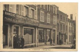 Rare Ardennes CARIGNAN Grande Rue Banque Générale Du Luxembourg Filiale De La Société Générale Animation Edt Repesse ..G - France