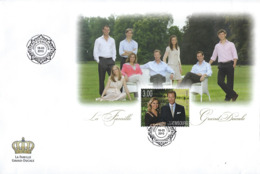 Luxembourg  -  FDC   16.3.2010   La Famille Grand-Ducale   Dim.190x138mm - FDC