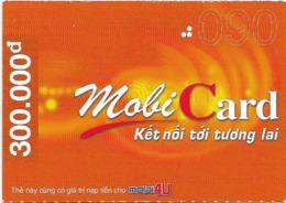 Vietnam - Mobi - MobiCard Orange, Prepaid 300,000₫, Exp. 31.12.2005, Used - Vietnam