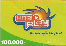 Vietnam - Mobi - MobiPlay Green, Prepaid 100,000₫, Exp. 31.12.2006, Used - Vietnam