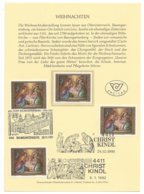 22464 - Christkindl 1991 Baumgartenberg 29.11.91 Christkindl 24.12.1991 Et 06.01.1992 - Noël