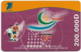 Vietnam - Vinaphone - 22nd Sea Games, Prepaid 200,000₫, Exp. 31.12.2005, Used - Vietnam