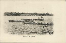 SAIGON , Les Régates , CPA ANIMEE - Vietnam