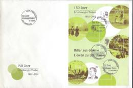 Luxembourg  -  FDC   14.9.2002     Biller Aus Dem Liewen Zu Letzebuerg   Dim.260x170mm - FDC