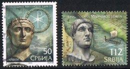 2013 - SERBIA - 1700mo ANNIVERSARIO DELL'EDITTO DI MILANO / 1700th ANNIVERSARY OF THE PUBLISHING OF MILAN - USATO / USED - Serbia