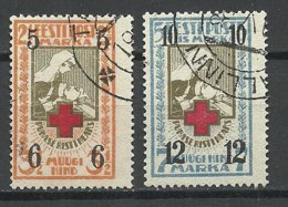 Estland Estonia 1926 Michel 60 - 61 O - Estland