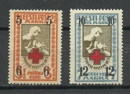 Estland Estonia 1926 Michel 60 - 61 MNH - Estland