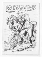 41  BLOIS  CARTE POSTALE   2 éme   FESTIVAL DE LA  BANDE DESSINEE   BD BOUM  1985  TRES  BON ETAT 2 SCANS - Cartes Postales