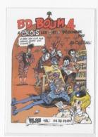 41  BLOIS  CARTE POSTALE   4 éme   FESTIVAL DE LA  BANDE DESSINEE   BD BOUM  1987  TRES  BON ETAT 2 SCANS - Cartes Postales
