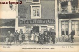 THAON CAFE DE LA FEMME A BARBE  88 - Thaon Les Vosges
