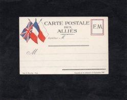 CARTE POSTALE Des ALLIES - Franchise FM - War 1939-45