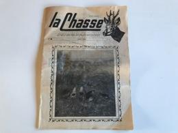 LA CHASSE N° 8 - Aout 1963 - Revue Cynegetique & Canine - Fischen + Jagen