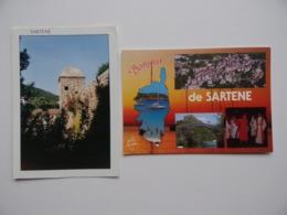 20 2A  SARTENE Corse Lot De 2 Cartes Postales - Sartene