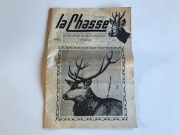 LA CHASSE N° 9 - Septembre 1963 - Revue Cynegetique & Canine - Fischen + Jagen
