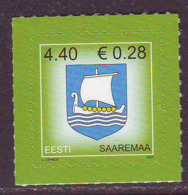 Estland 2007. Arms Of Saaremaa. MNH. Pf. - Estland