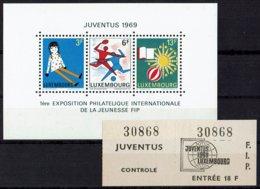 Luxemburg 1969 - Blocchi & Foglietti