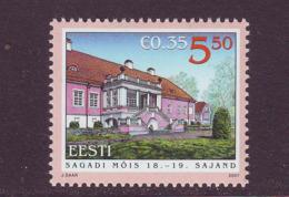 Estland 2007.  Sagadi Hall. MNH. Pf. - Estland
