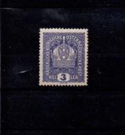 Austria Mnh 3 H 1916 - Neufs