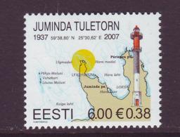 Estland 2007. Juminda Lighthouse. MNH. Pf. - Estland