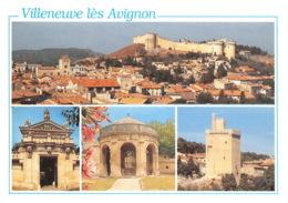 VILLENEUVE LES AVIGNON La Cite Des Cardinaux Les Toits De La Cite 10(scan Recto-verso) MA1173 - Villeneuve-lès-Avignon