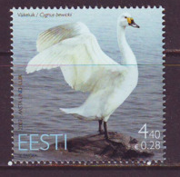 Estland 2007. Bird Of The Year - Swan. MNH. Pf. - Estland