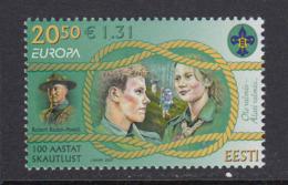 Estland 2007.The 100th Anniversary Of Scouting. MNH. Pf. - Estland