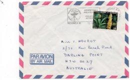 LSC 1987 - Flamme Et Cachet NOUMEA Sur YT 521 - Briefe U. Dokumente