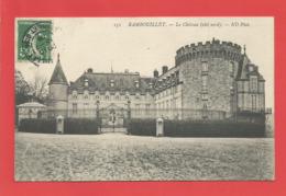 """C.P.A.  ( 78 ) """" RAMBOUILLET   """" Le Chäteau ( Côté Nord )    .X 2 Photos - Rambouillet (Château)"""