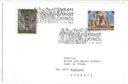 22475 - Christkindl 1993 Cover Pour Bignasco Tessin 04.12.1993 - Weihnachten