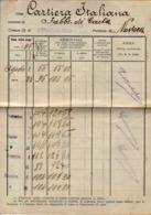 B 2765 - Serravalle Sesia, Vercelli,  Libretto Di Paga - Vecchi Documenti