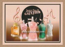CC Carte Parfumée 'JEAN PAUL GAULTIER' #19 'XMAS' JPG Perfume Card 1EX!! - Cartes Parfumées