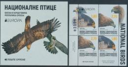 """BOSNIA/Bosnien Serbische Rep.SRPSKA EUROPA 2019 """"National Birds"""" Booklet** - 2019"""