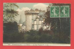 """C.P.A.  ( 78 ) """" RAMBOUILLET   """" Le Chäteau - La Tour François Ier. -    .X 2 Photos - Rambouillet (Château)"""