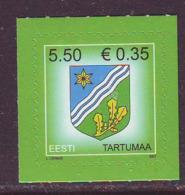 Estland 2007. Arms Of Tartu. MNH. Pf. - Estland