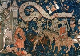 CPM 55 (Meuse) Vaucouleurs - Tapisserie. Jeanne D'Arc Et Son Escorte Arrivant à Chinon TBE (Henri Bataille) - Altri Comuni