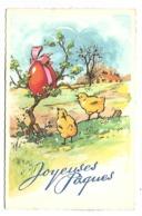 JOYEUSES  PAQUES - Poussins - 1402 - Pâques