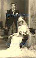 Un Couple De Mariés Vers 1950 Maurice Et Renée Coirier - Geïdentificeerde Personen