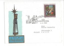 22478 - Christkindl 1989 Cover Pour Baden 06.01.1989 - Noël