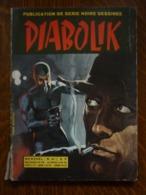 Diabolik Mensuel N°47: Le Roi De L'évasion/ Editions Gemini, Août 1969 - Books, Magazines, Comics