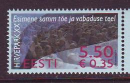 Estland 2007.  The 20th Anniversary Of The Hirvepark Demonstration. MNH. Pf. - Estland